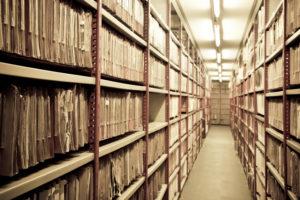 Срок хранения актов выполненных работ в организации